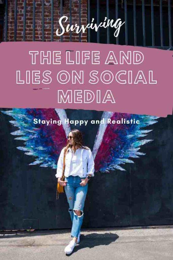 social media life and lies