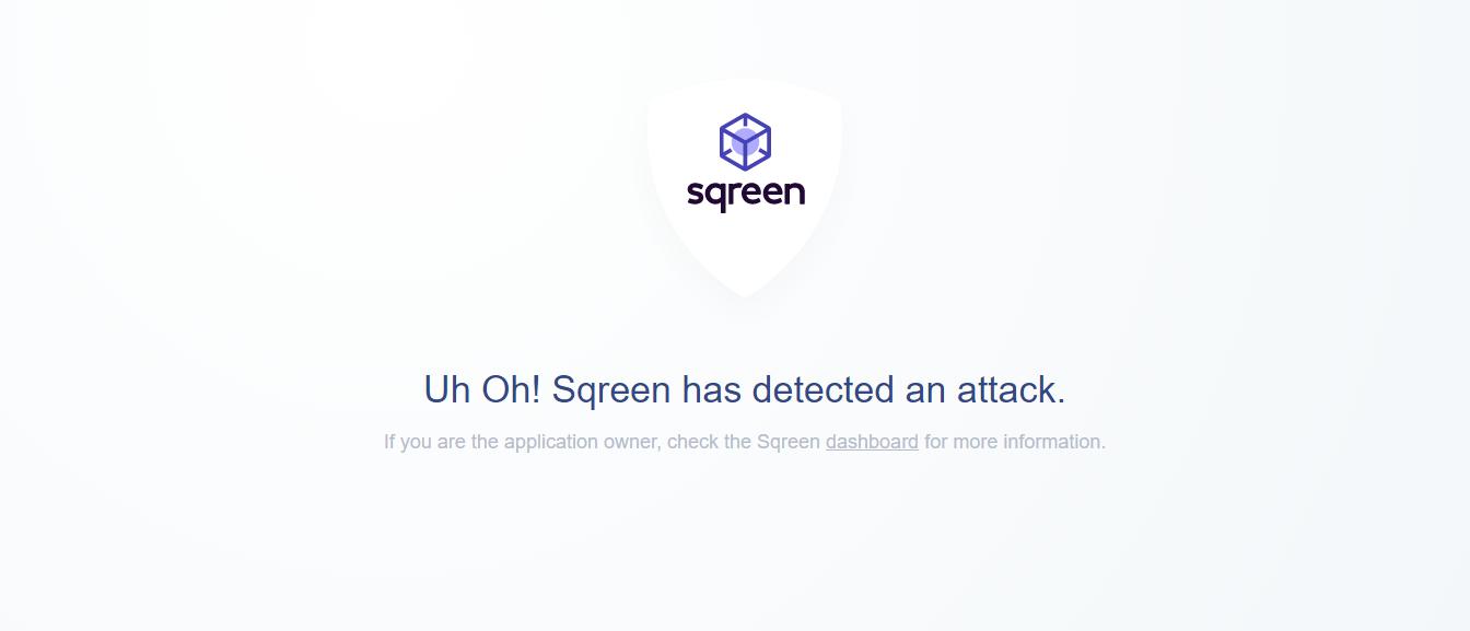 Resondent error page